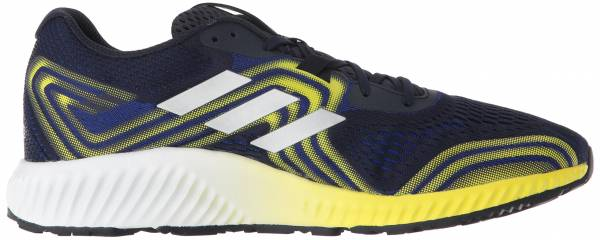 Adidas Aerobounce 2  Mystery Ink/Silver Metallic/Shock Yellow