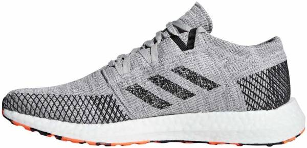 check out 1100a 44136 ... order adidas pure boost go grey two core black hi res orange 922b0 9e845