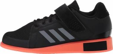 Adidas Power Perfect 3 - Core Black/Night Met./Signal Coral