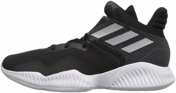 best service 842af ba081 Adidas Explosive Bounce 2018 Black Silver Metallic Light Solid Grey