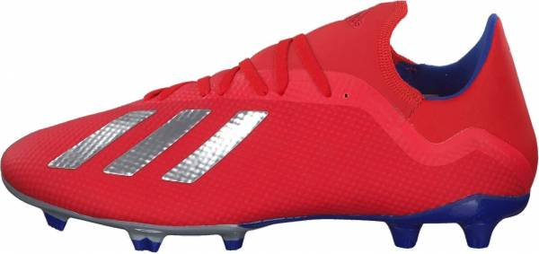 Adidas X 18.3 Firm Ground Active Red/Silver Metallic/Bold Blue