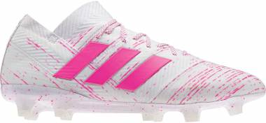 Adidas Nemeziz 18.1 Firm Ground - White (BB9427)