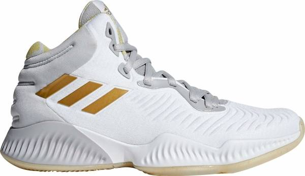 best sneakers bbedf 604cf Adidas Mad Bounce 2018 White Gold