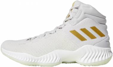 Adidas Pro Bounce 2018 - Grey/Gold Metallic/Aero Green (B41859)