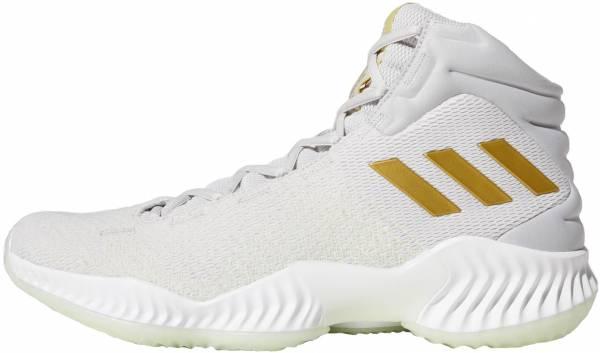Adidas Pro Bounce 2018 - Grey Gretwo Gold Mt Aergrn Gretwo Gold Mt Aergrn (B41859)