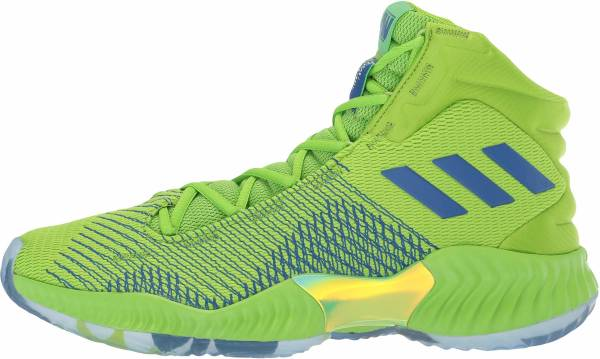 Adidas Pro Bounce 2018 - Semi Solar Green Collegiate Royal Dark Navy (B41856)