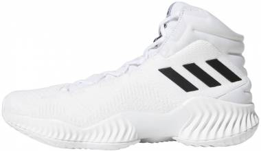 on sale 1ad2c e3b25 Adidas Pro Bounce 2018 White Black Crystal White Men