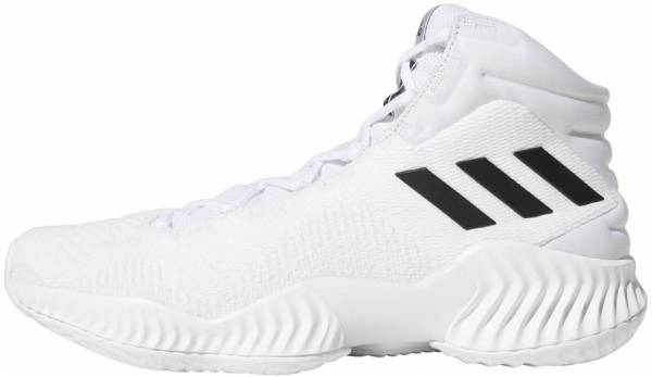 low priced a4e8b bc8e6 Adidas Pro Bounce 2018 White Black Crystal White