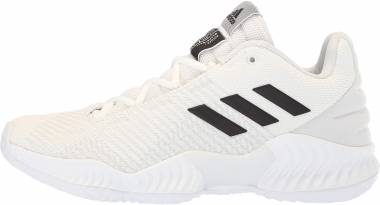 Adidas Pro Bounce 2018 Low - White Black Crystal White