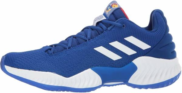 Adidas Pro Bounce 2018 Low - Collegiate Royal White