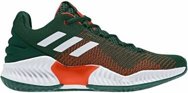 Adidas Pro Bounce 2018 Low - Dark Green/White/Orange (B41867)