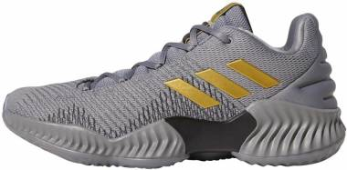 Adidas Pro Bounce 2018 Low - Grey/Gold Metallic/Grey