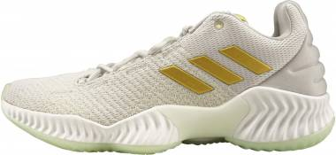 Adidas Pro Bounce 2018 Low Aero Green/Gold Metallic/Grey Men