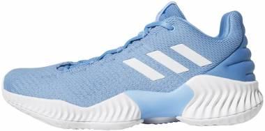 Adidas Pro Bounce 2018 Low - Light Blue-white