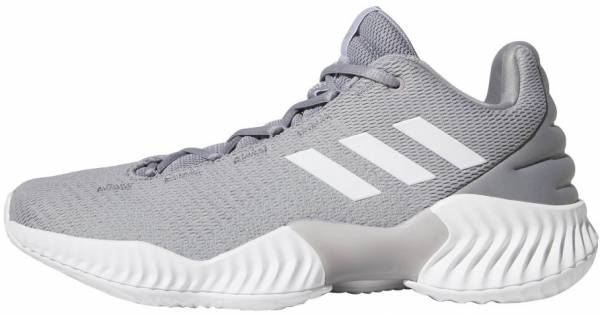 premium selection d7425 21fe7 Adidas Pro Bounce 2018 Low Light Onix-White