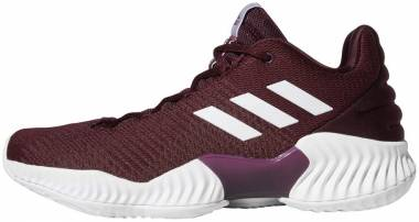 Adidas Pro Bounce 2018 Low - Maroon White