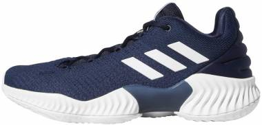 Adidas Pro Bounce 2018 Low - Collegiate Navy White (AH2677)