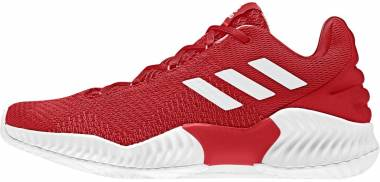 Adidas Pro Bounce 2018 Low Red-white Men