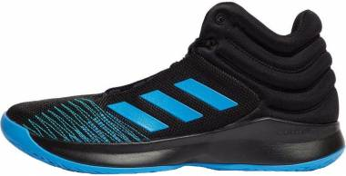Adidas Pro Spark 2018 - Black Bright Blue Black