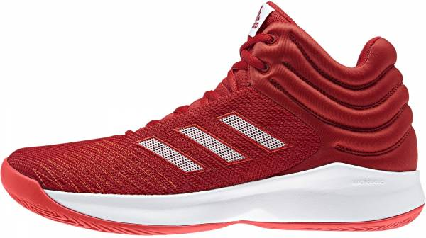 Adidas Pro Spark 2018 - Red Scarle Ftwwht Hirere Scarle Ftwwht Hirere (B44964)