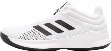 Adidas Pro Spark 2018 Low - White/Black/Grey