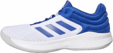 Adidas Pro Spark 2018 Low Collegiate Royal/White/Grey Men