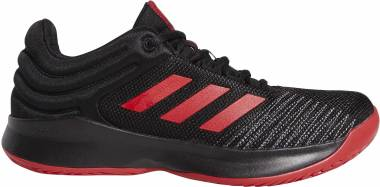 Adidas Pro Spark 2018 Low - Black Scarlet Grey