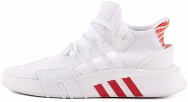 Adidas EQT Bask ADV - Footwear White / Trace Scarlet