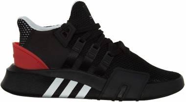 Adidas EQT Bask ADV - Core Black/Cloud White-hi-res Red