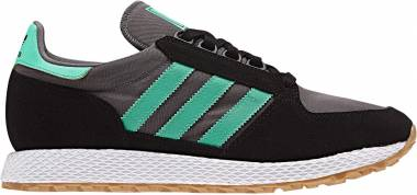 Adidas Forest Grove - Black/Hi-res Green/Grey Four