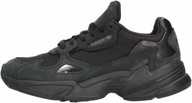 Adidas Falcon - Core Black / Core Black / Grey Five (G26880)
