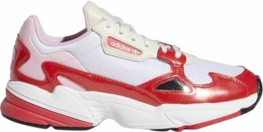 Adidas Falcon - White/Red (EE3830)