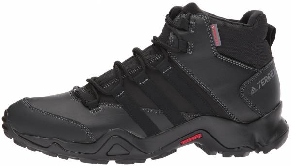 save off c7831 8c3e8 Adidas Terrex AX2R Beta Mid CW Black