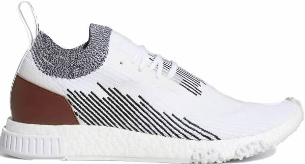 Adidas NMD_Racer - Cloud White / Core Black / Redwood