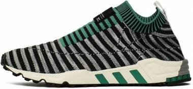 Adidas EQT Support SK Primeknit - Core Black/Grey One/Sub Green (B37522)