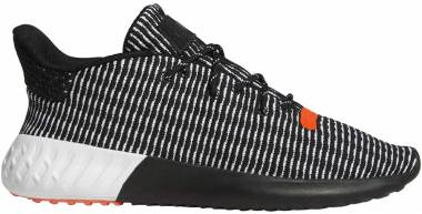Adidas Tubular Dusk Primeknit Core Black/Cloud White/Solar Red Men