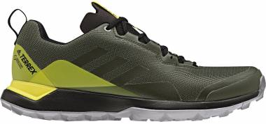 e993037e902c56 Adidas Terrex CMTK GTX Base Green Night Cargo Shock Yellow Men