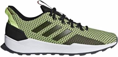 Adidas Questar Trail Black/Black/Yellow Men