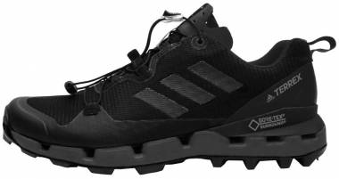 Adidas Terrex Fast GTX Surround - Black/Grey Five/Hi-res Red (AQ0365)