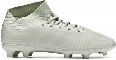 Adidas Nemeziz 18.3 Firm Ground - Grey Ash Silver Ash Silver White Tint S18 (DB2353)