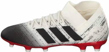 Adidas Nemeziz 18.3 Firm Ground Off White/Black/Active Red Men