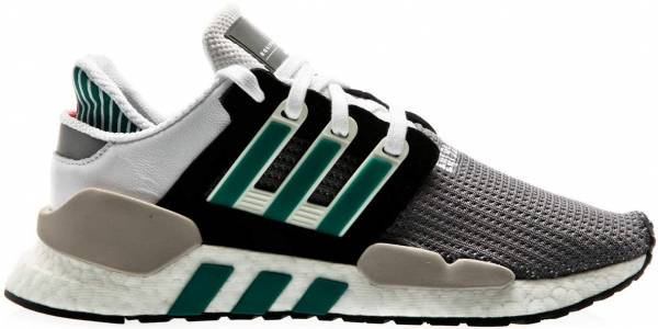 low priced 7819b 6322a Adidas EQT Support 9118 Core Black-clear Granite-sub Green