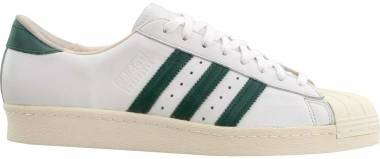 Adidas Superstar 80s Recon - Crystal White/Collegiate Green