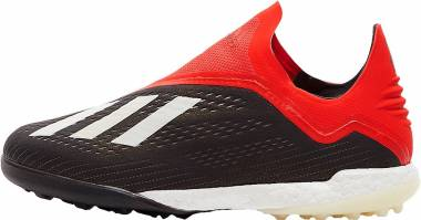 Adidas X Tango 18+ Turf - Core Black White Active Red (BB9388)