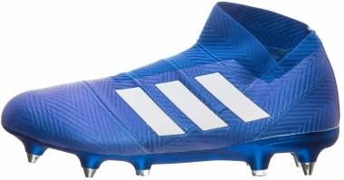 Adidas Nemeziz 18+ Soft Ground - blau