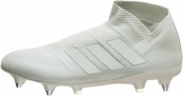 Adidas Nemeziz 18+ Soft Ground Ash Silver/Ash Silver/White Ink