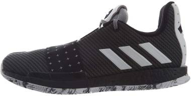 online store 69176 178fd Adidas Harden Vol 3 Black White Men