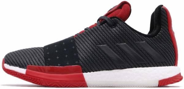 Adidas Harden Vol 3 Core Black / Grey / Scarlet