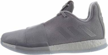 df81ba36f81120 Adidas Harden Vol 3 Grey Two   Silver Metallic-aero Blue Men