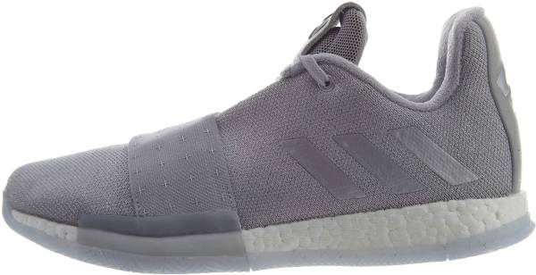 finest selection 9c51a 21ef7 Adidas Harden Vol 3 Grey Two   Silver Metallic-aero Blue